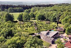 Labyrinth auf niederländischer Seite