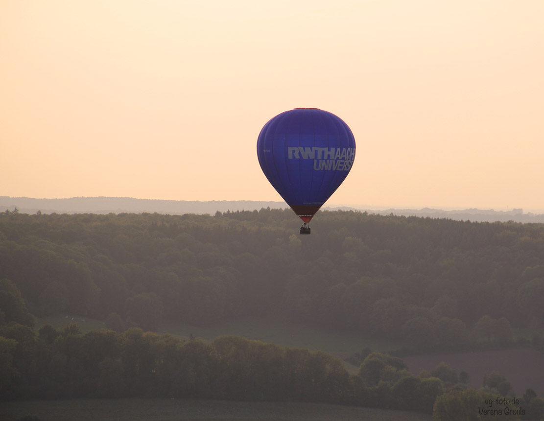 Heißluftballon über Vaals