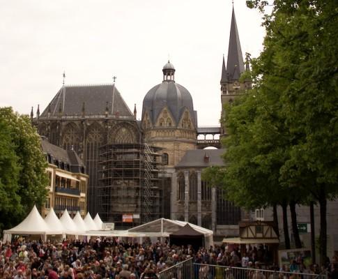 Aachen an Christi Himmelfahrt